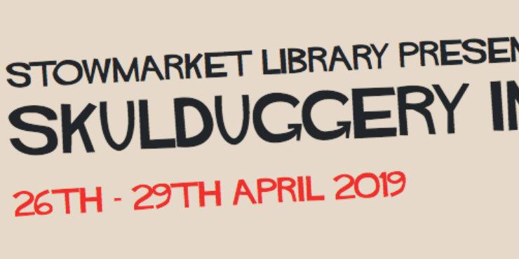 Skulduggery in Stowmarket 2019 logo