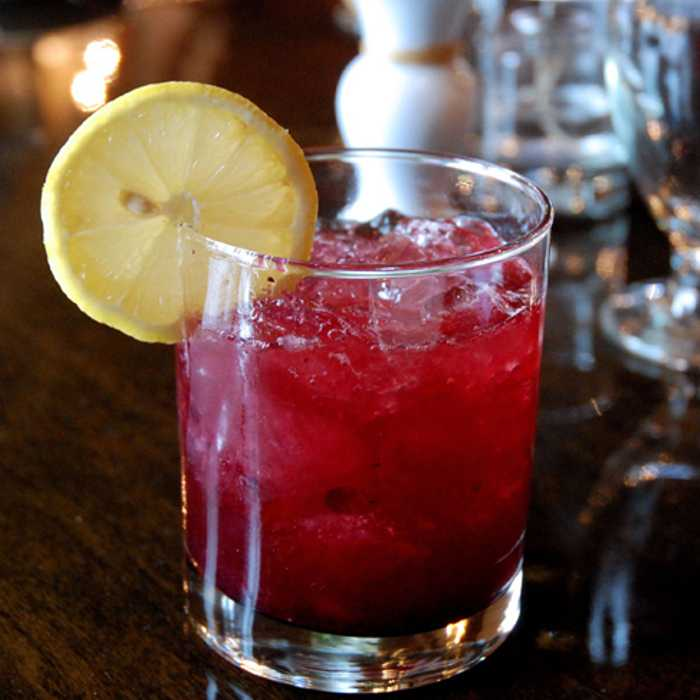 Vermouth Cassis Cocktail