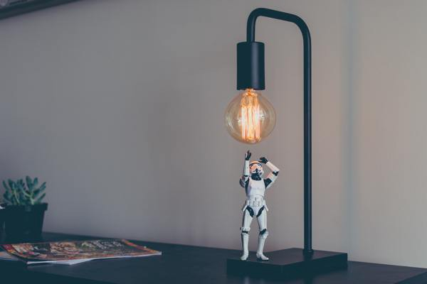 How many Stormtroopers does it take to screw in a light bulb?