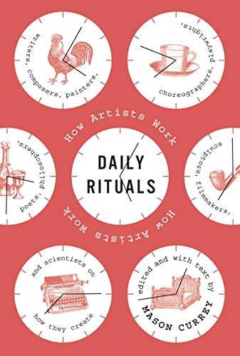 Daily Rituals: How Artists Work Cover