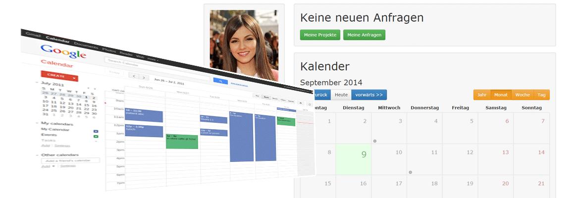 Suche anhand Kalenderverfügbarkeit