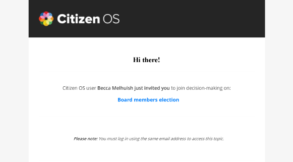 Screenshot of the platform.