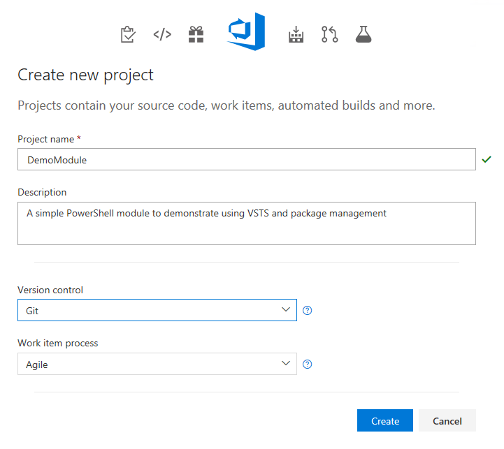 VSTS (YAML) PowerShell Build Pipeline