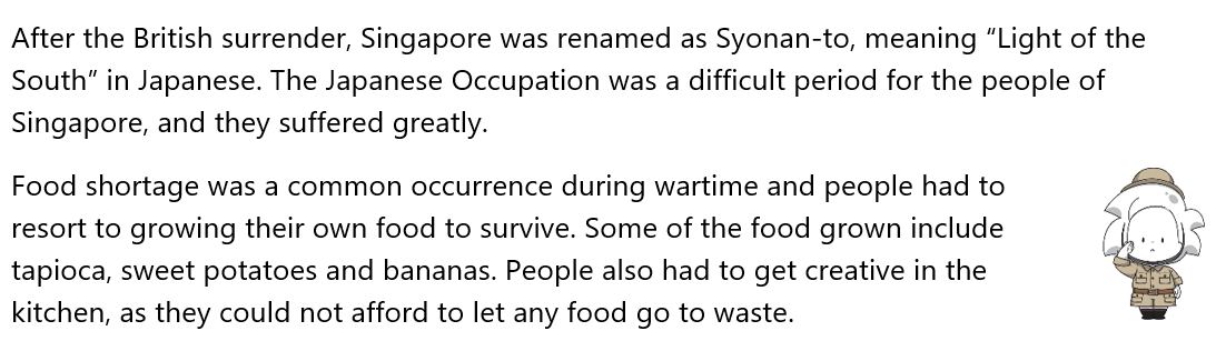 About Food Shortages