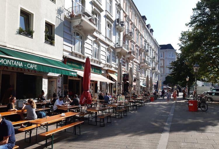 Restaurants in der Hamburger Sternschanze