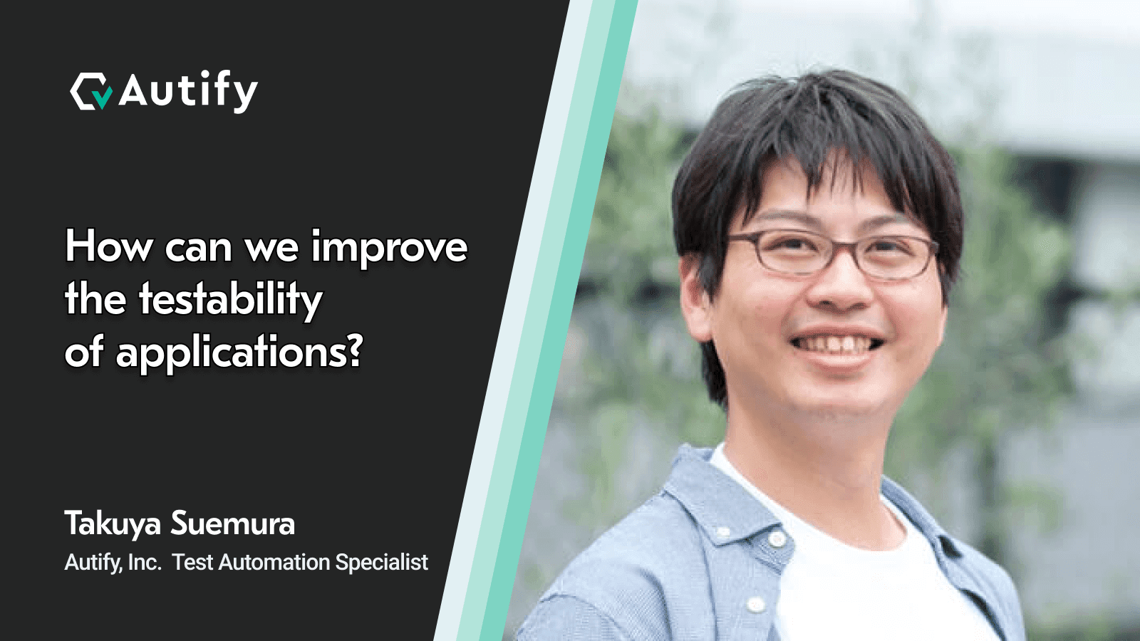 Transcript: How can we improve the testability of applications? @ Spring OnlineTestConf 2020