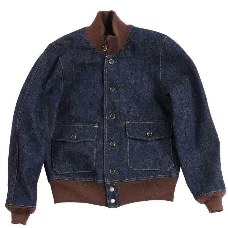 Denim A-1 jacket