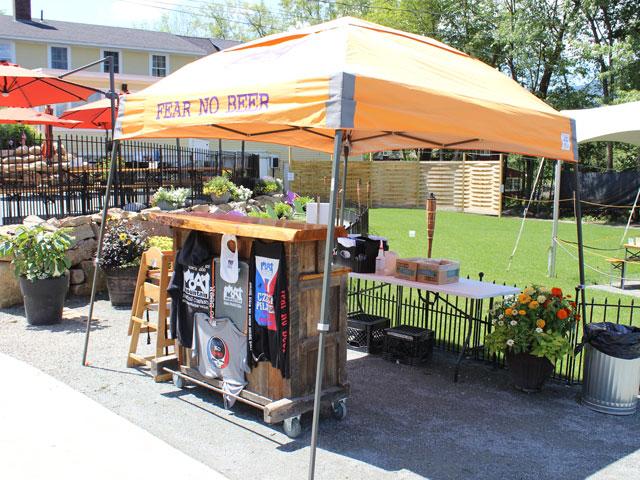 Moat Mountain's Outdoor Beer Garden
