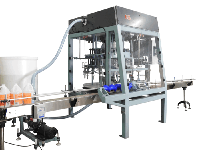 Rotary Liquid Fillers - Automated Pack