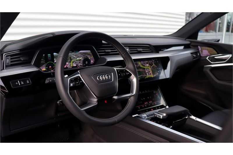Audi e-tron Sportback 55 quattro S line excl. BTW Panoramadak, S Sportstoelen, Head Up display afbeelding 18