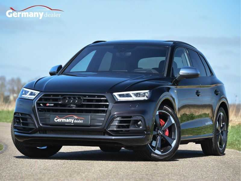 Audi SQ5 3.0TFSI 354pk Quattro Black Optic Alle Opties! Individual Lucht Tr.Haak Standk Ruitleder 360Cam afbeelding 1