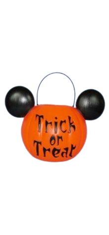 Mickey Mouse Pumpkin Pail photo