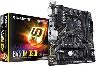 GIGABYTE B450M DS3H
