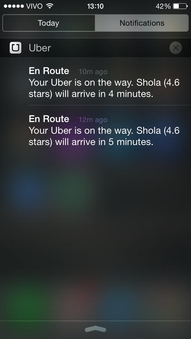 Uber Bug 1