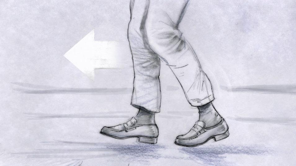 Dancing Feet Story branding pitch storyboard 03