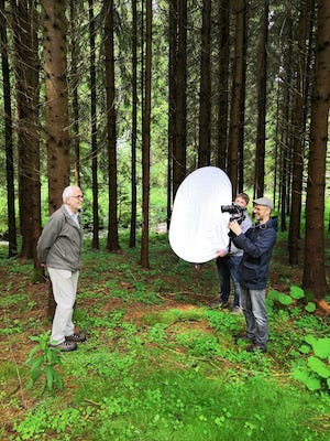 Dreh im Wald Behind the Scenes