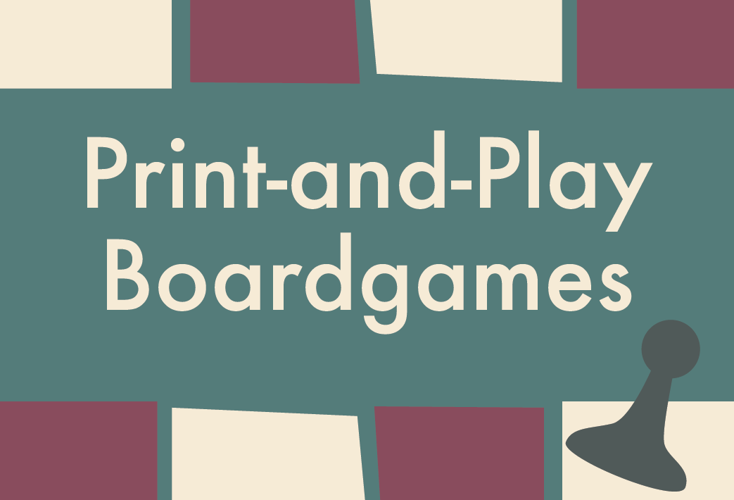 Print-and-Play Boardgames