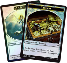 The foil tokens of Magic: the Gathering