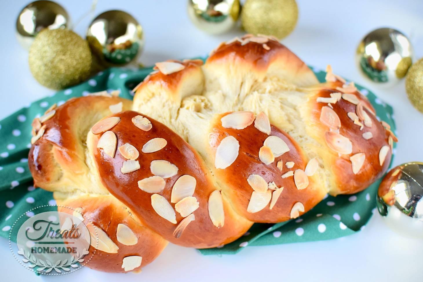 پلّا : خبز بريوش بالهيل