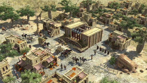 A screenshot of 0 A.D. showing the Persian civilisation