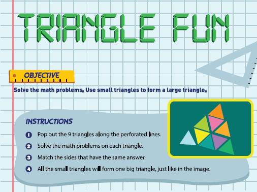 Triangle fun images