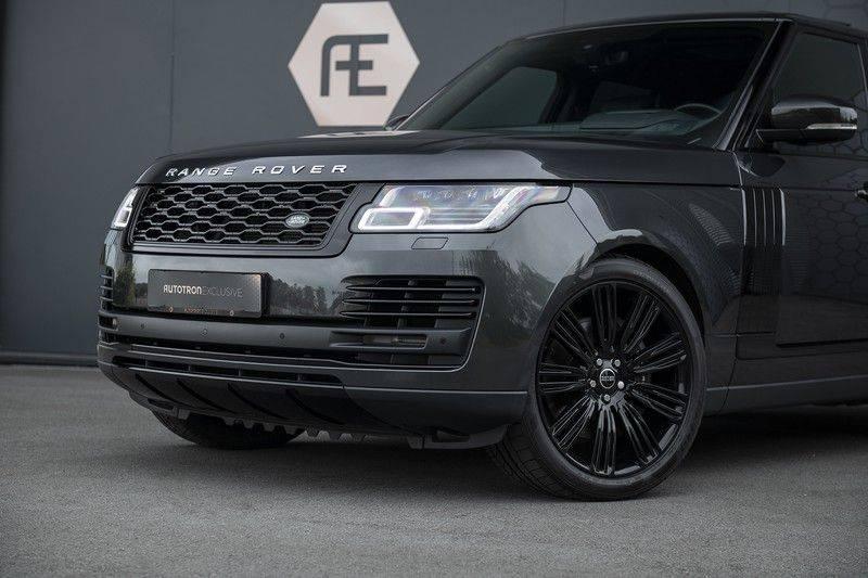 "Land Rover Range Rover 5.0 V8 SC VOGUE Black Pack Elek. Trekhaak, Head-up, 22"", Stoelverkoeling, afbeelding 9"
