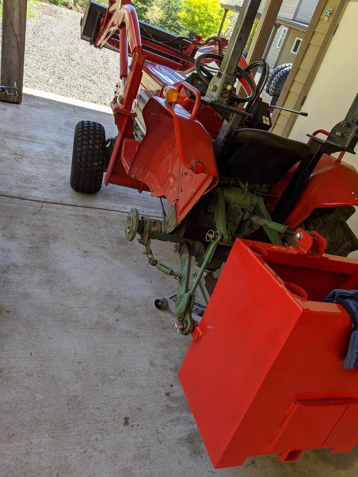 Yanmar Tractor Tires Swap