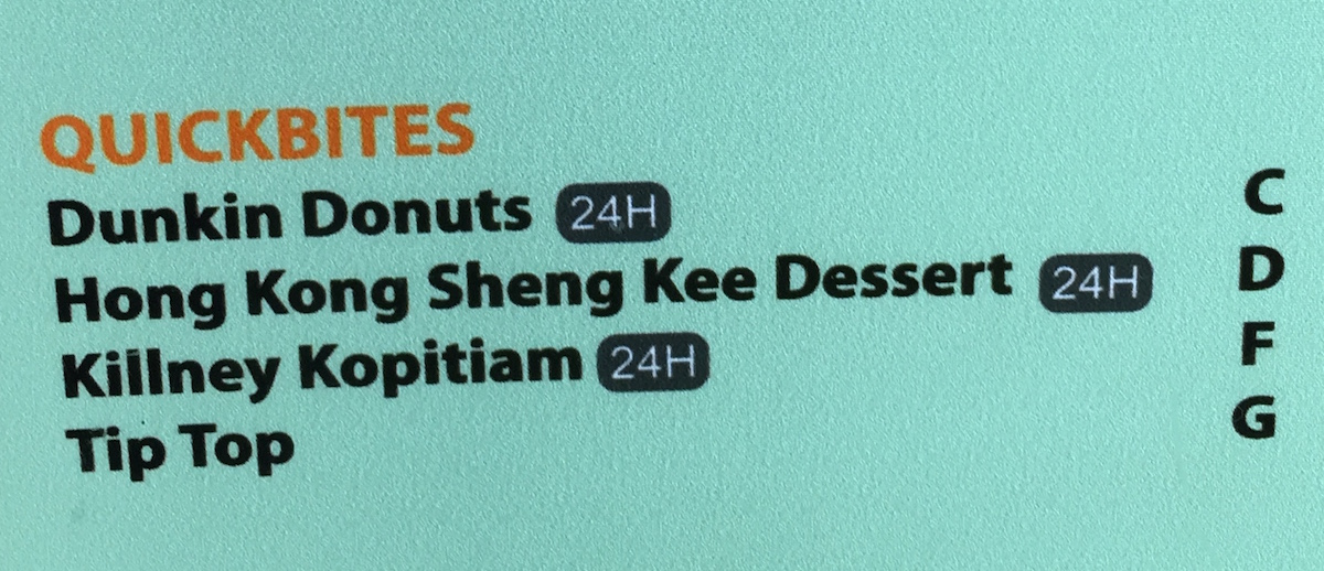 Singapore Dunkin Donuts