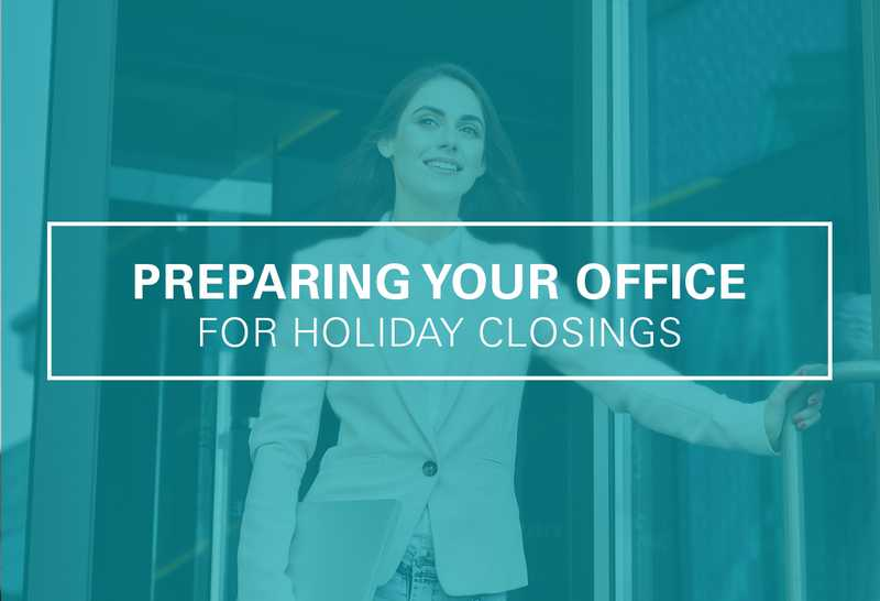 How to Prepare Your Medical Office for Holiday Closings
