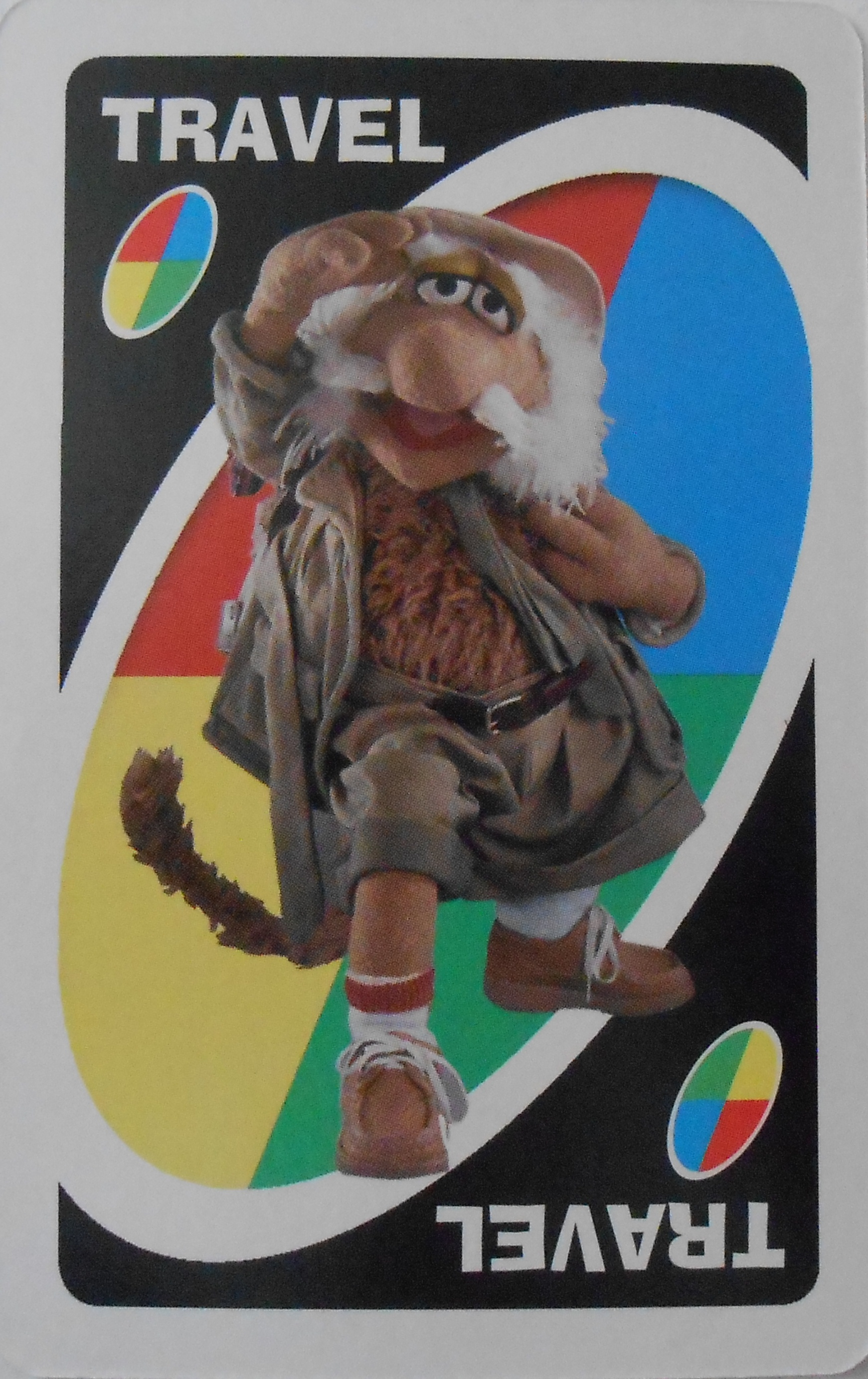Fraggle Rock Uno (Travel Card)