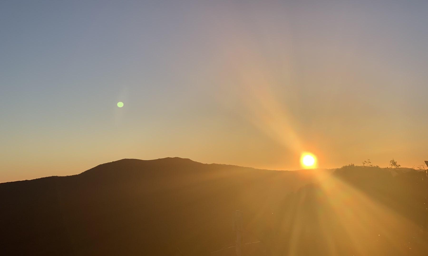 Sunrise from Mt Buller