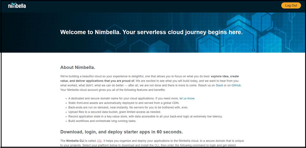 Nimbella Command Line Interface