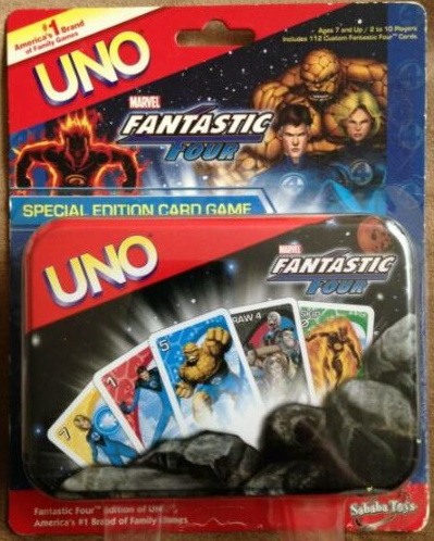 Marvel Fantastic Four Uno
