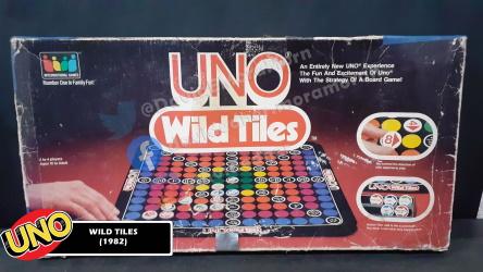 Uno Wild Tiles Game