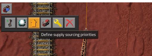 supply source priorities menu