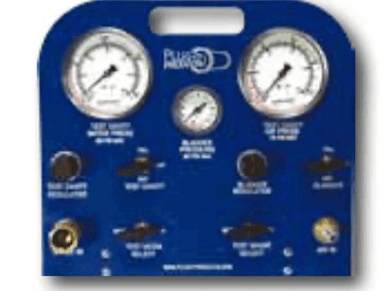 Joint Test Plug Control Panel