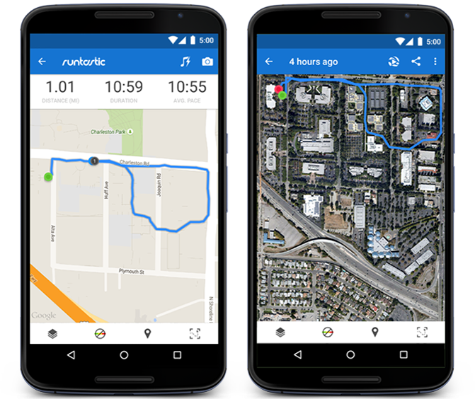 Google Maps on Android