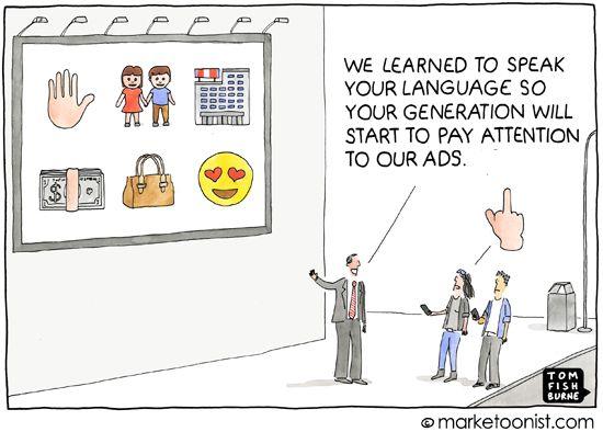 marketoonist marketing to millenials