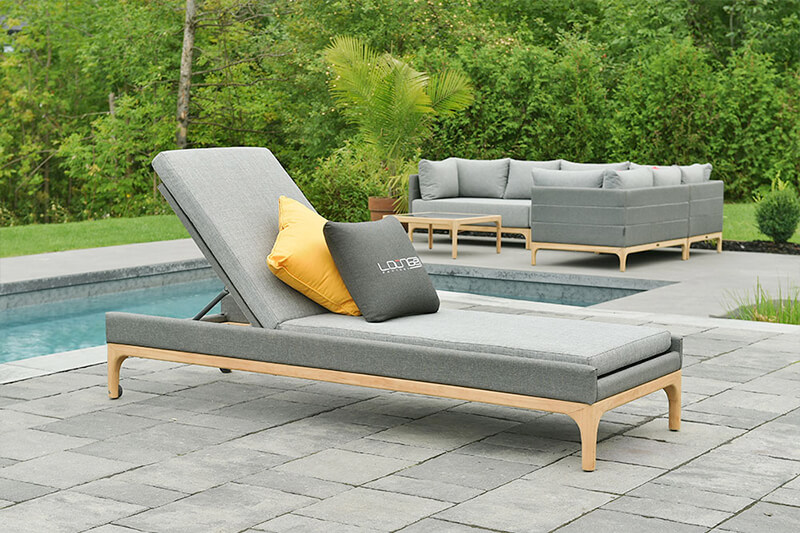 Mobilier domino lounger
