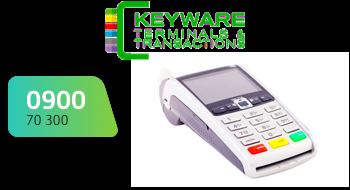 Keyware gebruikt een 0900-nummer.