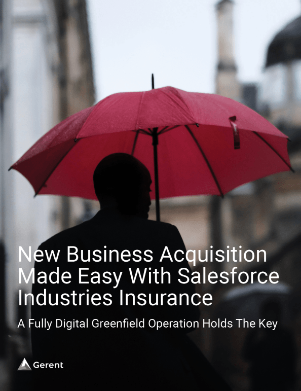 New Business Acquisition Made Easy With Salesforce Industries Insurance Cover