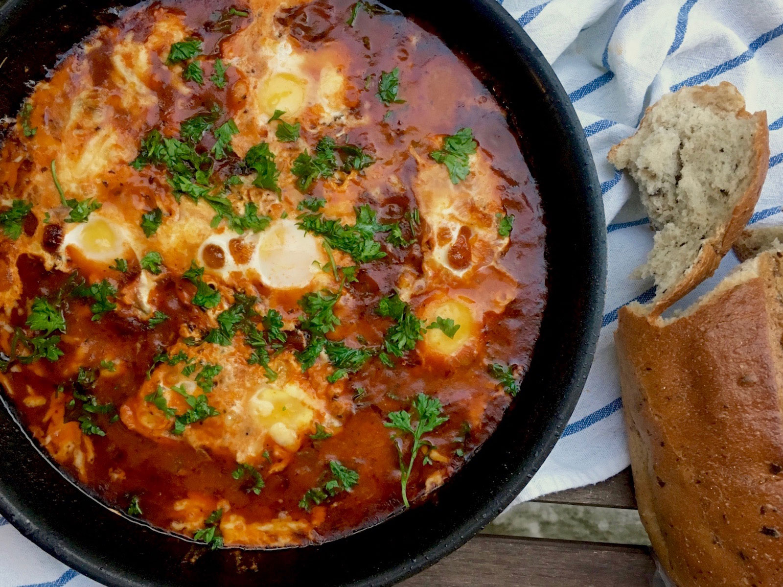 How to make a great shakshuka