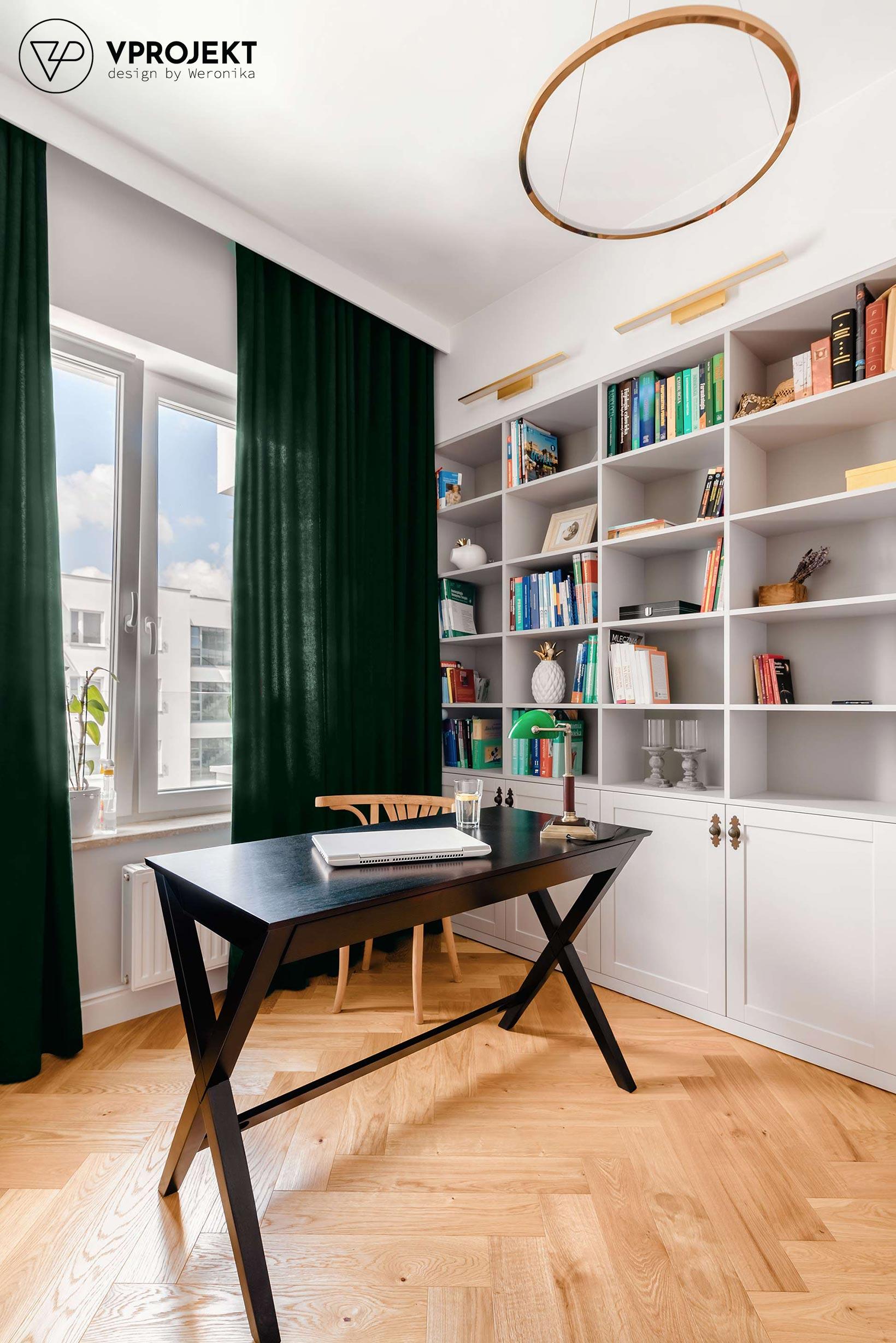 Projekt miejsca do pracy, mieszkanie w Olsztynie, Vprojekt