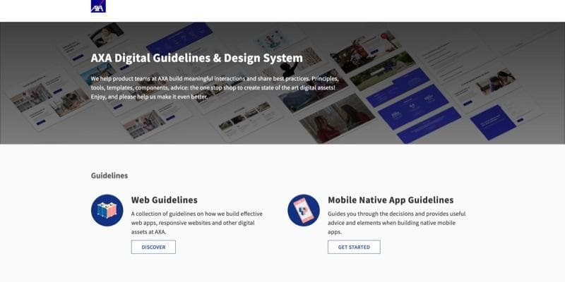 AXA Digital Guidelines