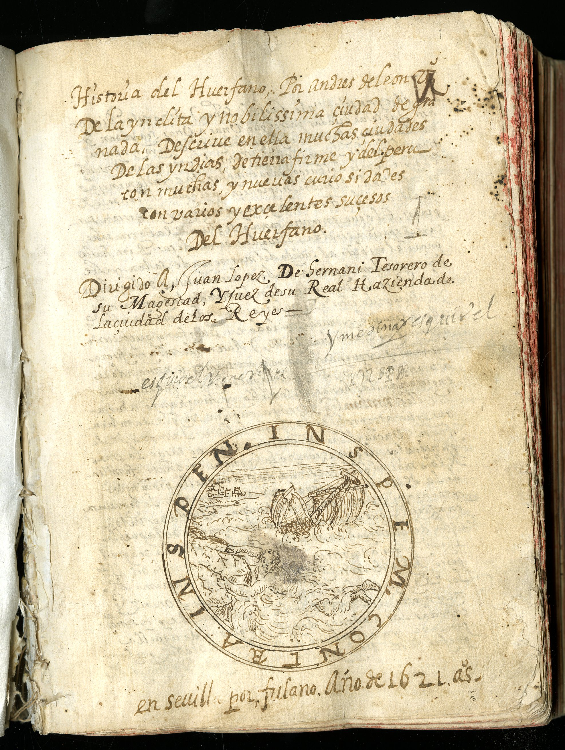 An Orphan's Tale. The History of the Orphan Manuscript in the Hispanic Society Library, by Dr. Mitchell A. Codding, Executive Director and President, Hispanic Society