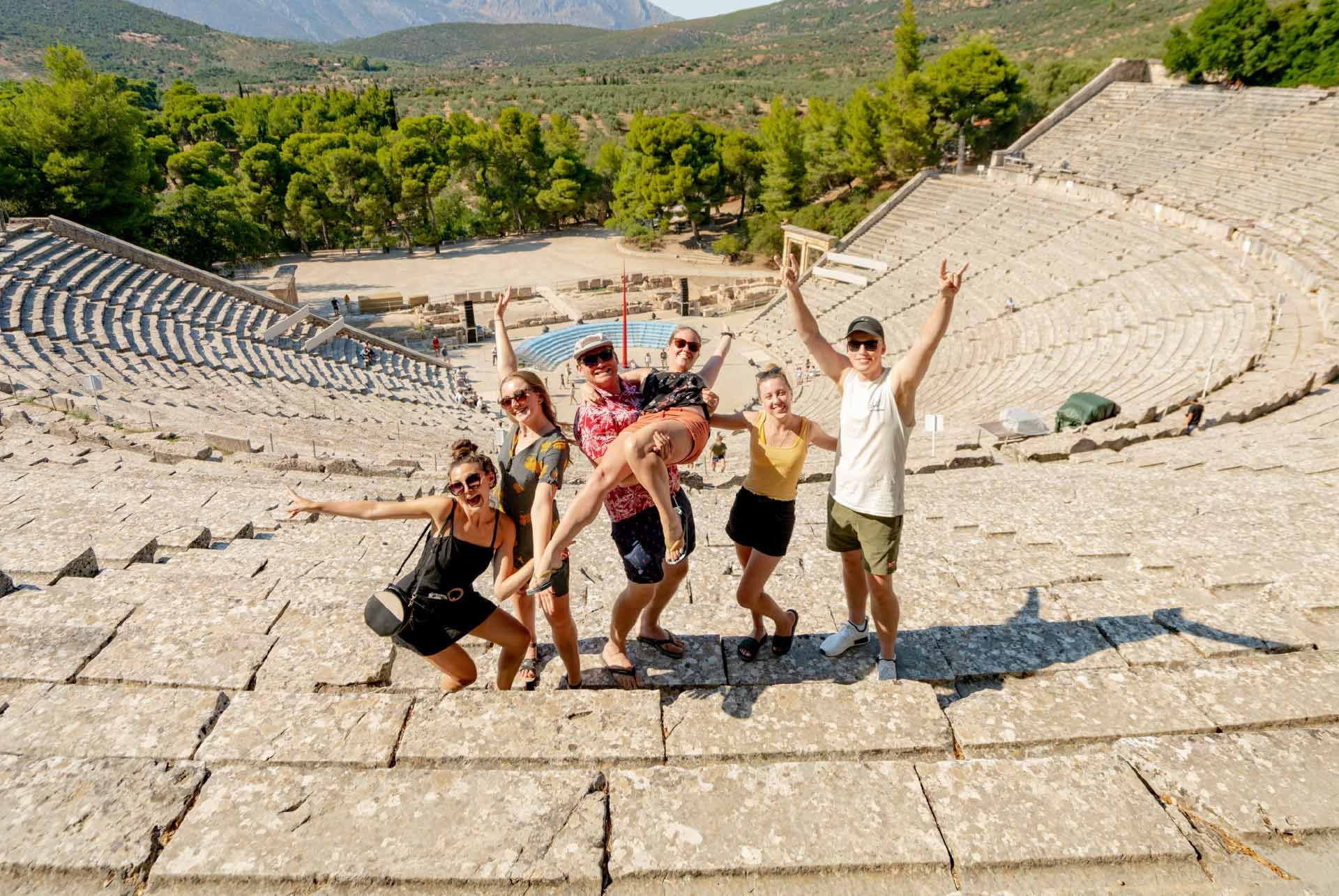 Epidavros Ancient Theatre