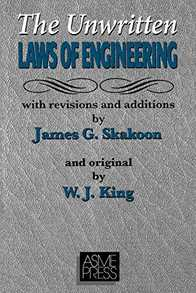 Unwritten Laws of Engineering Cover