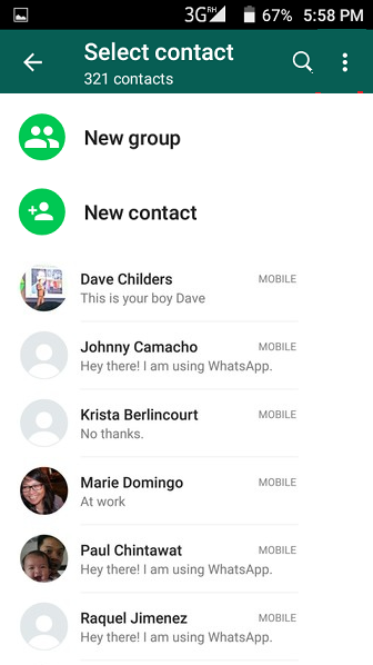 How to Find WhatsApp Contacts - Covve