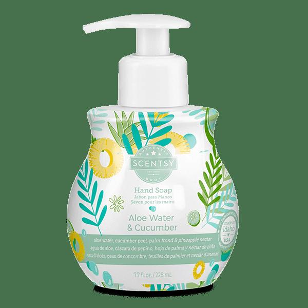 Aloe Water & Cucumber Hand Soap