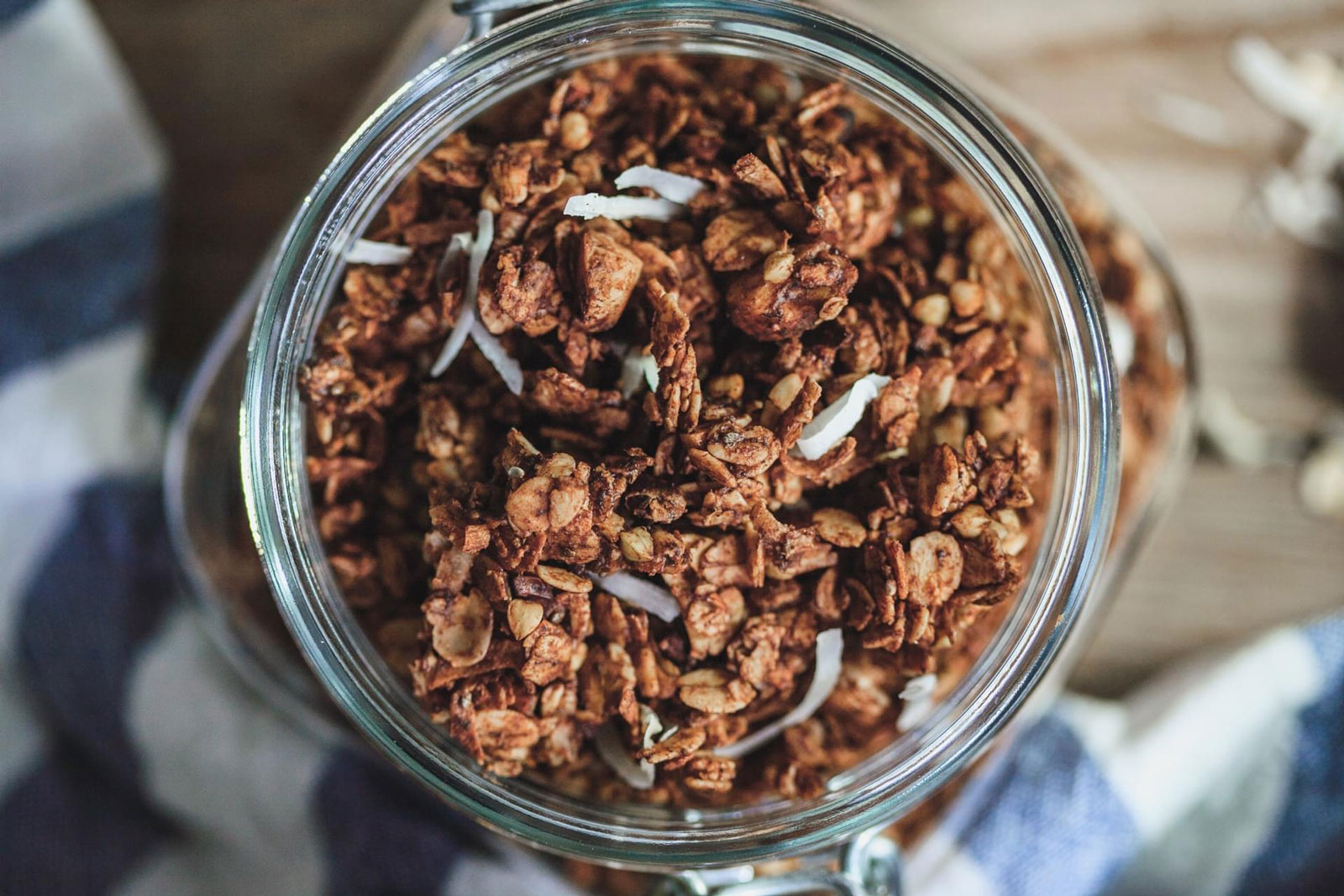Chocolate Buckwheat Loaded Granola